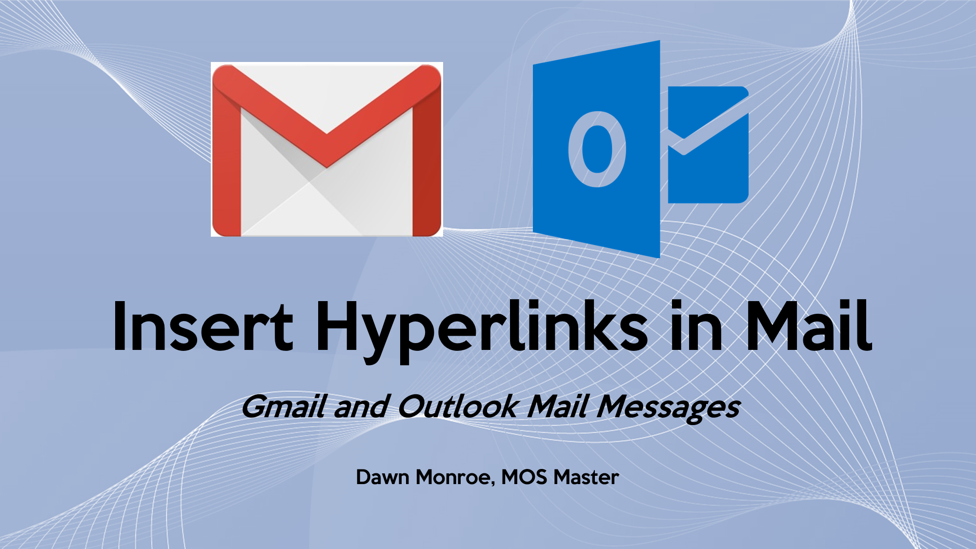 Insert Hyperlinks in Mail