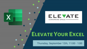 Elevate Your Excel Sept 12