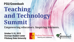 PSU / Greenbush Teaching and Technology Summit graphic September 9 and 10