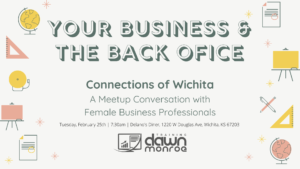 Your Business & The Back Office @ Delano's Diner