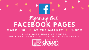 "At The Market: ""Figuring Out Facebook Pages"" @ Live Online Zoom Training"