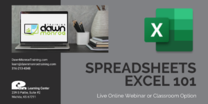 Spreadsheets Excel 101