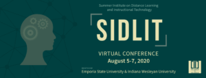 SIDLIT: Answer the Call for Accessibility @ Live Online
