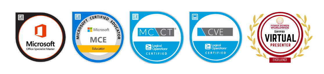 My Certification Badges
